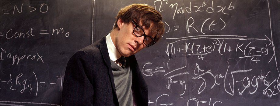 Benedict as physicist Stephen Hawking in this drama about his early ...