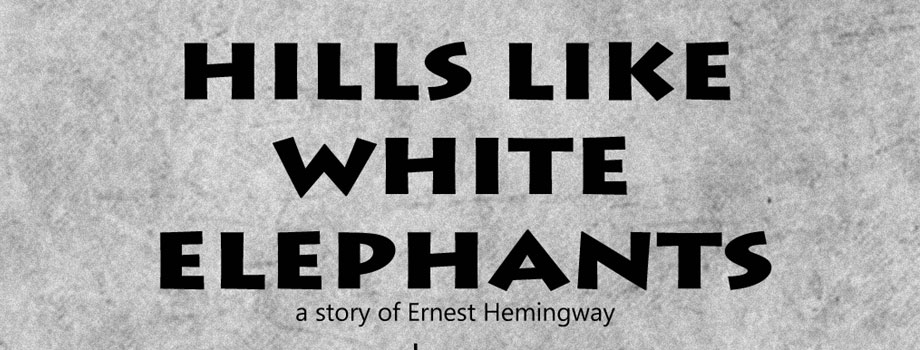 a critical review of hills like white elephants a short story by ernest hemingway In hills like white elephants by ernest hemingway we have the theme of reliance, communication, discontent, change and conflict taken from his the complete short stories collection the story is narrated in the third person by an unknown narrator and is set at a train station in spain.